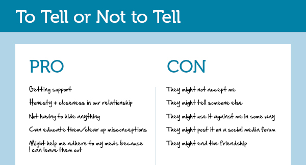 relationship pros and cons list