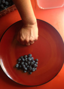 A portion of fruit should be about the size of a fist